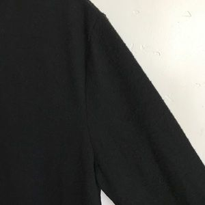 Zara Dresses - Zara Black Sweater Dress Lace Hem  Size Small